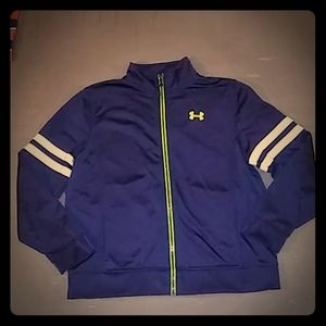 Under Armour Youth XL Athletic Zip-Up Sweatshirt